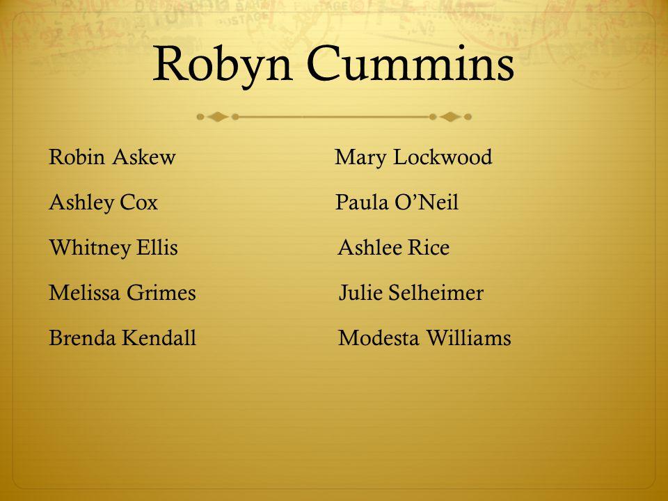 Robyn Cummins