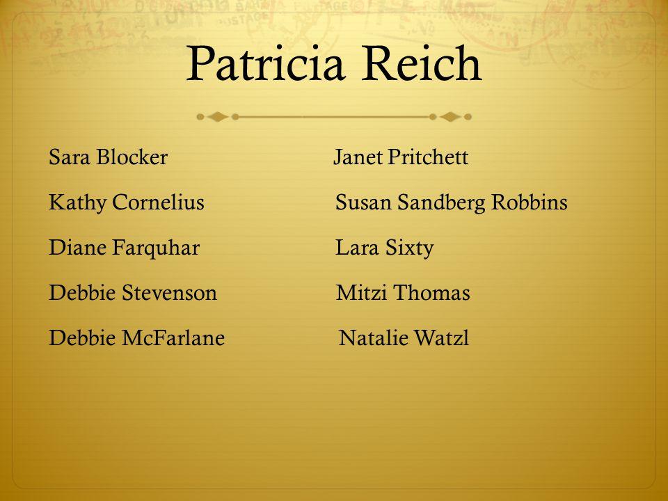 Patricia Reich