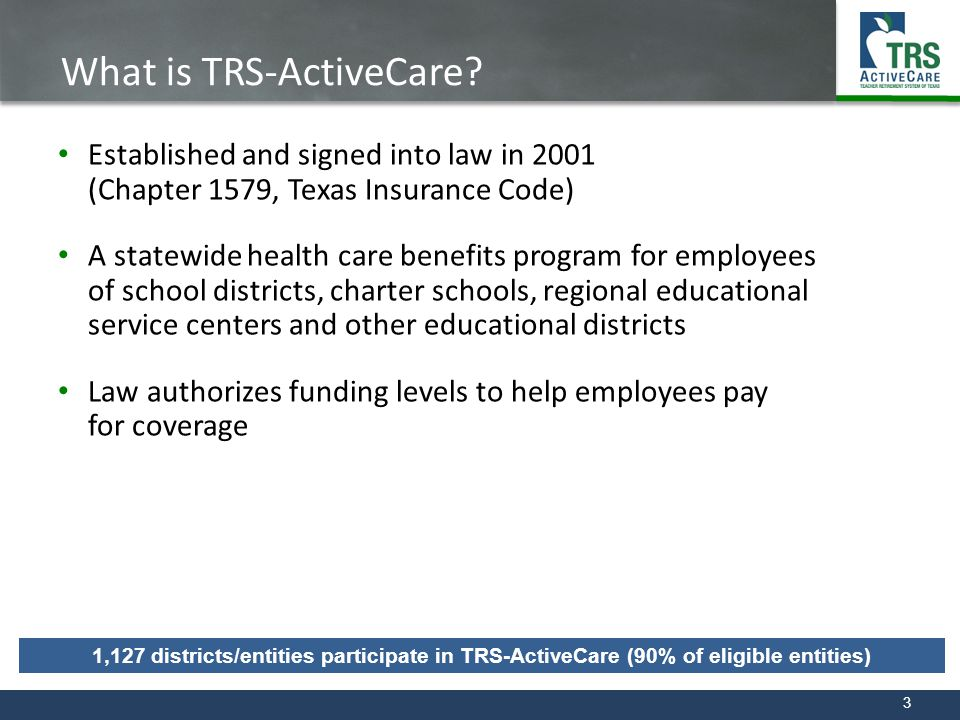 What is TRS-ActiveCare