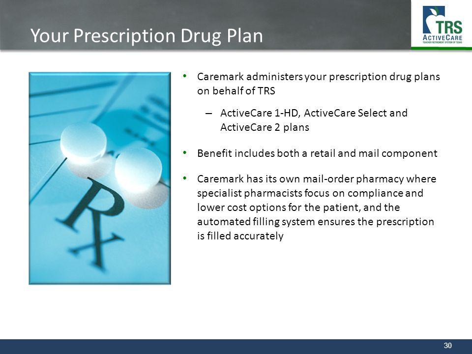 Your Prescription Drug Plan