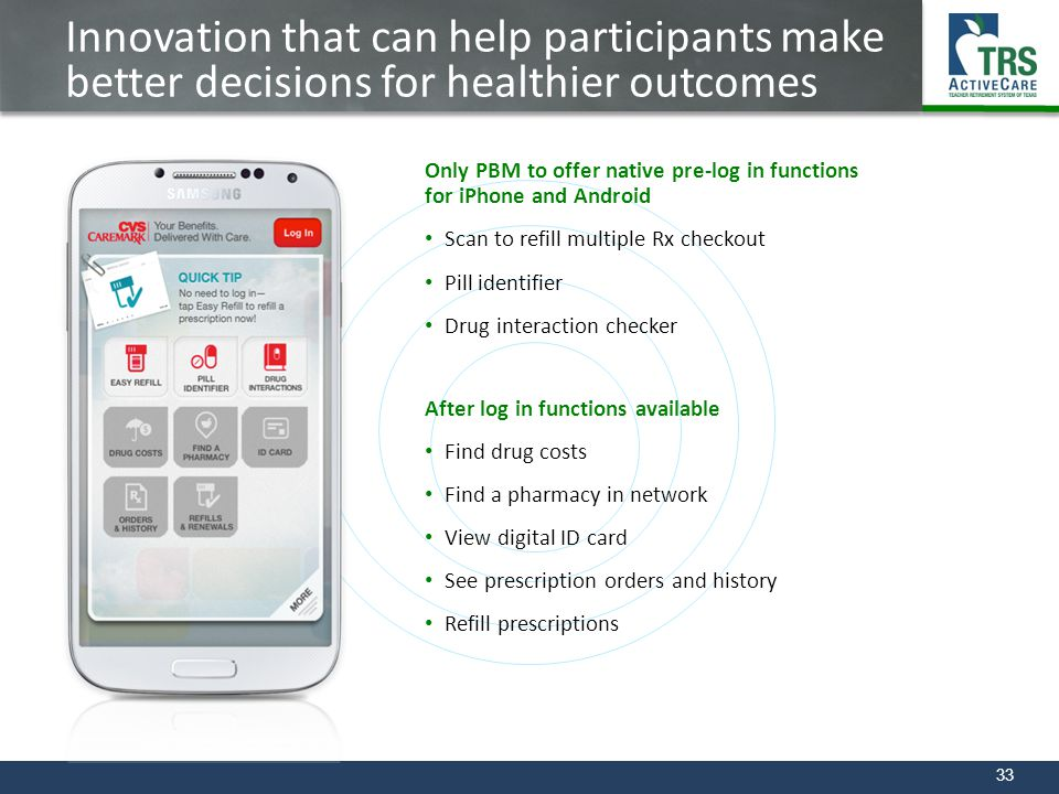 Innovation that can help participants make better decisions for healthier outcomes
