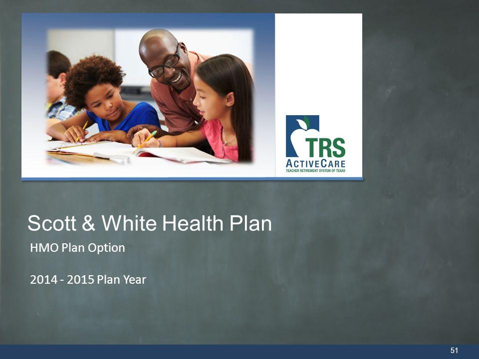 HMO Plan Option 2014 - 2015 Plan Year