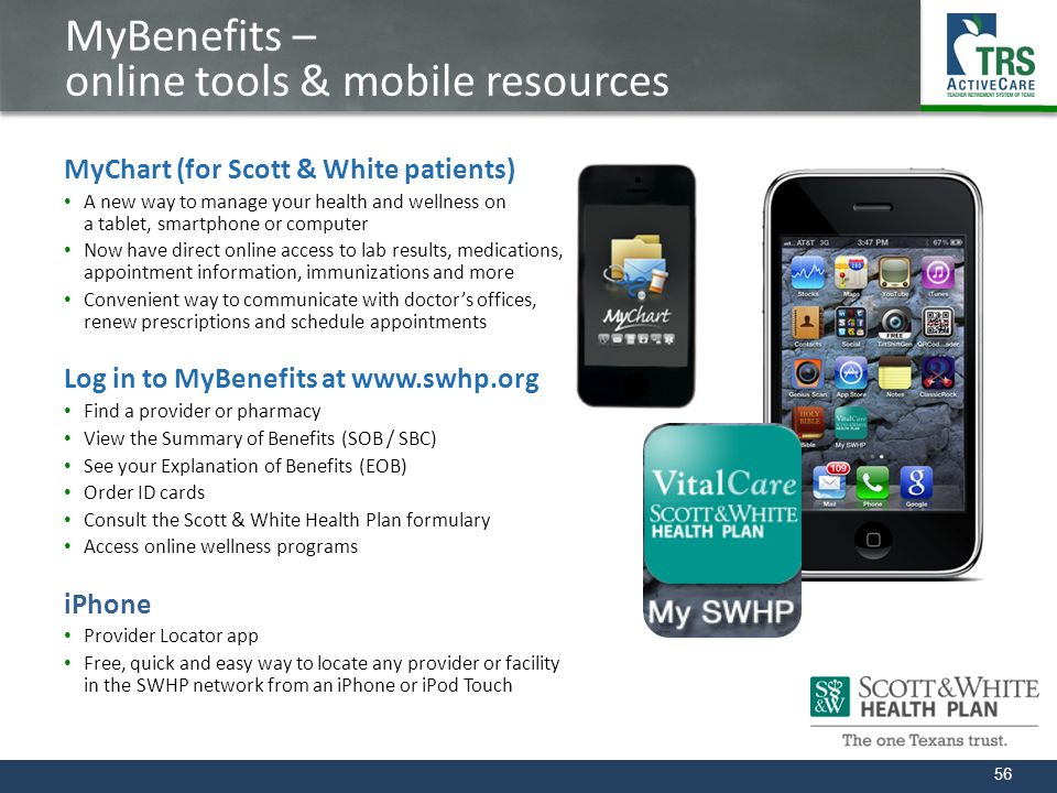 MyBenefits – online tools & mobile resources