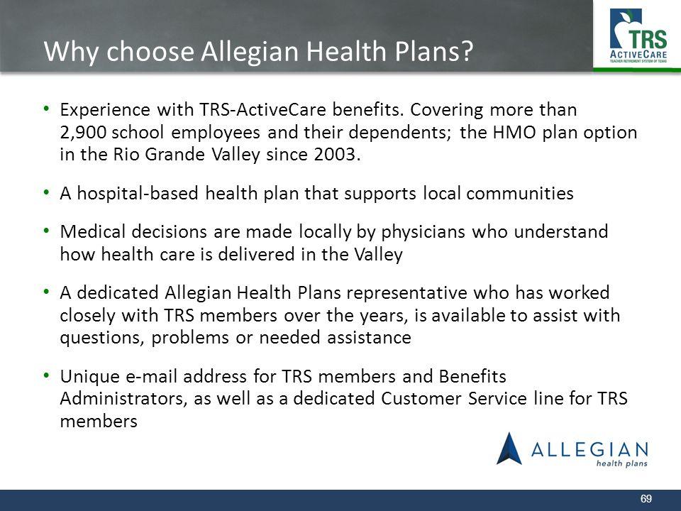 Why choose Allegian Health Plans