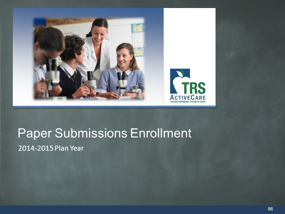 Paper Submissions Enrollment