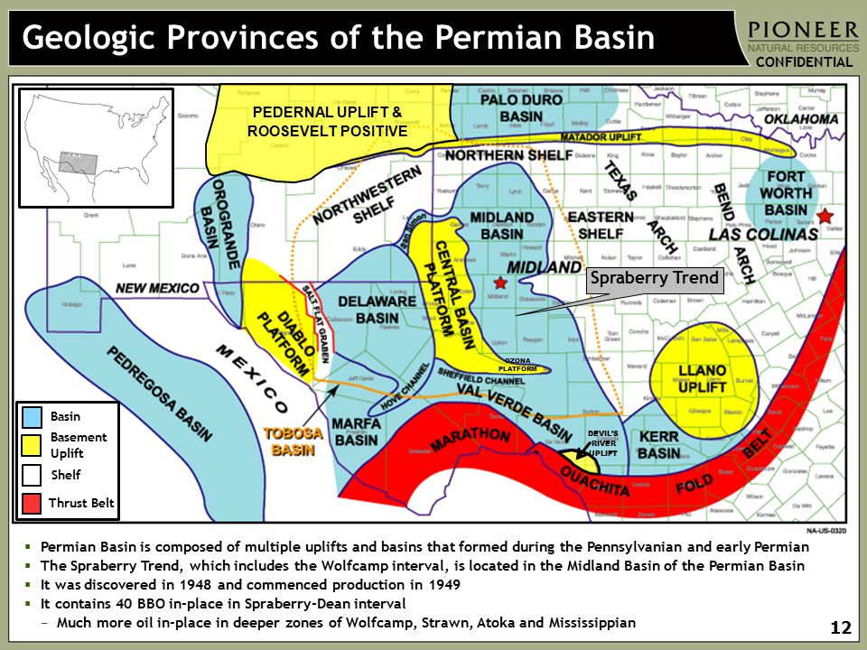 Geologic Provinces of the Permian Basin