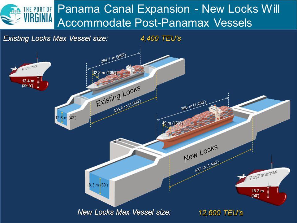 New Locks Will Accommodate Post-Panamax Vessels