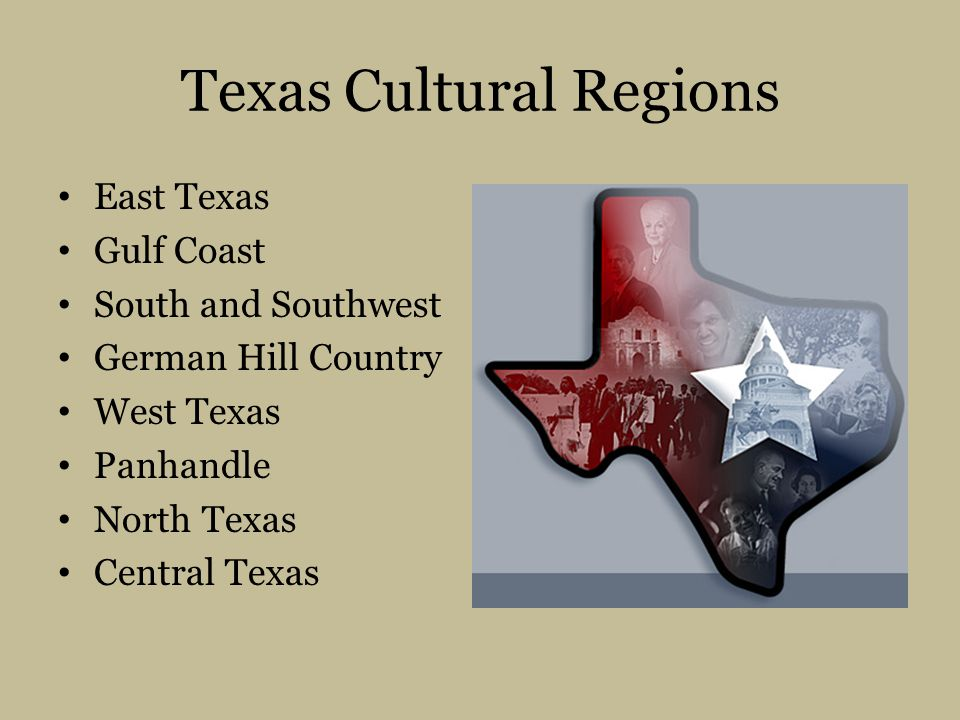 Texas Cultural Regions