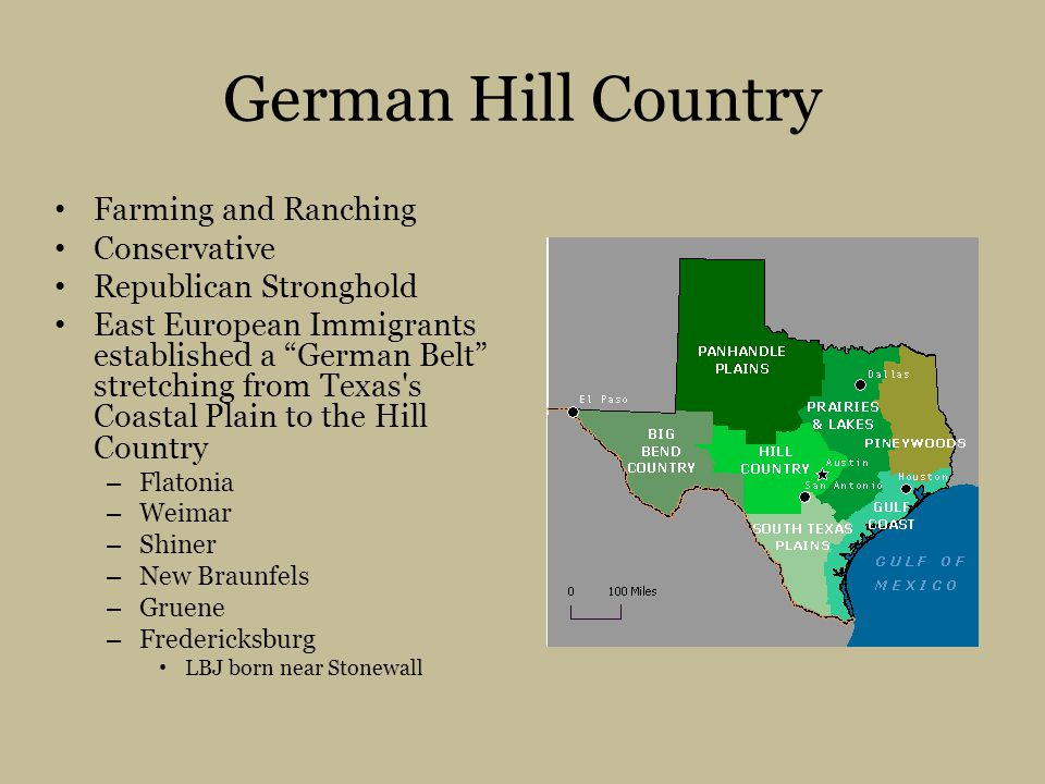 German Hill Country Farming and Ranching Conservative