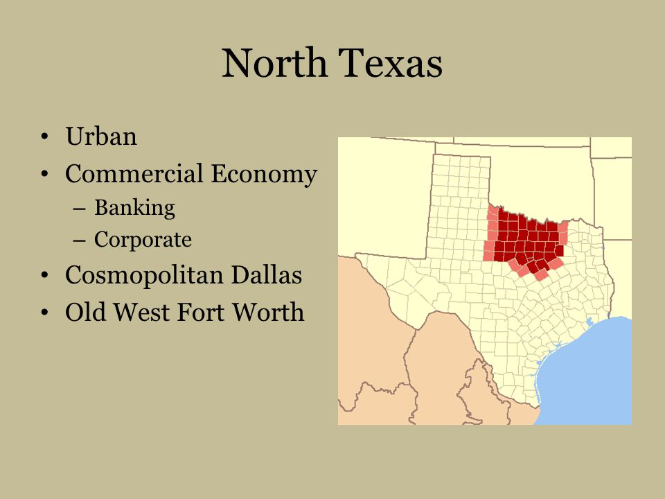 North Texas Urban Commercial Economy Cosmopolitan Dallas