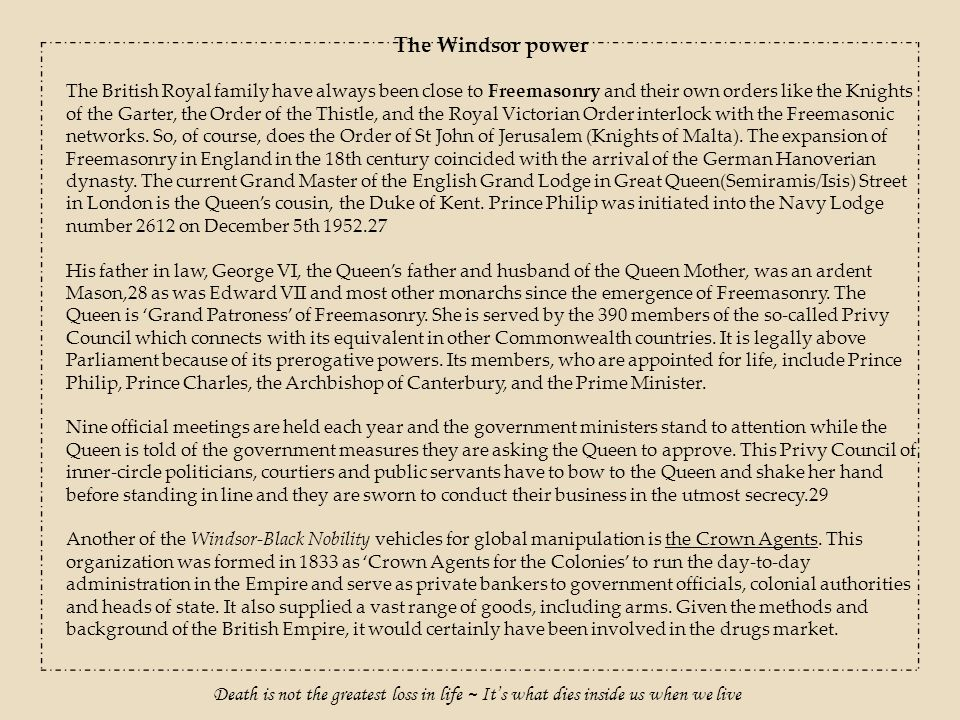 The Windsor power