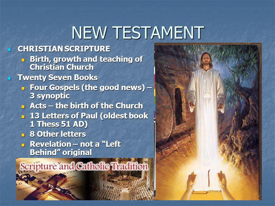 NEW TESTAMENT CHRISTIAN SCRIPTURE