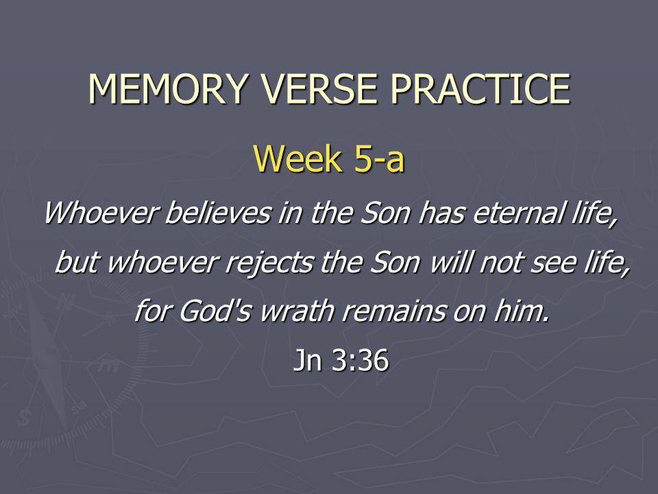 MEMORY VERSE PRACTICE Week 5-a