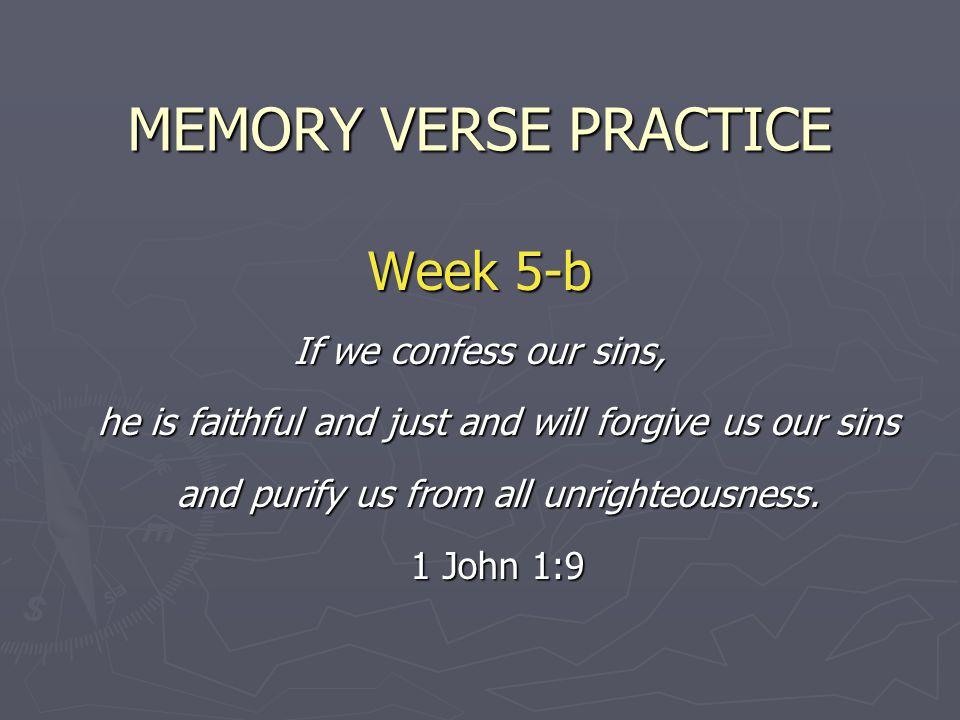 MEMORY VERSE PRACTICE Week 5-b