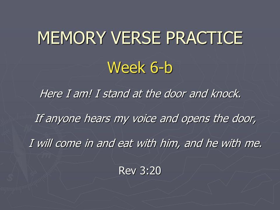 MEMORY VERSE PRACTICE Week 6-b