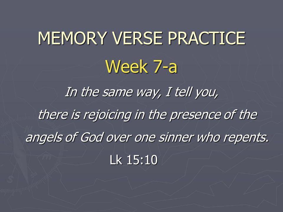 MEMORY VERSE PRACTICE Week 7-a