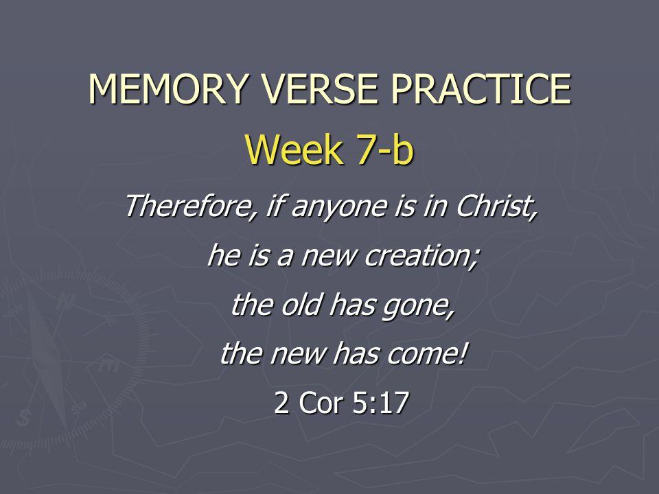MEMORY VERSE PRACTICE Week 7-b