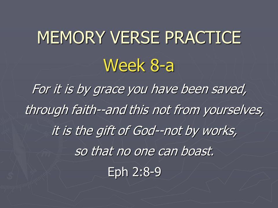 MEMORY VERSE PRACTICE Week 8-a