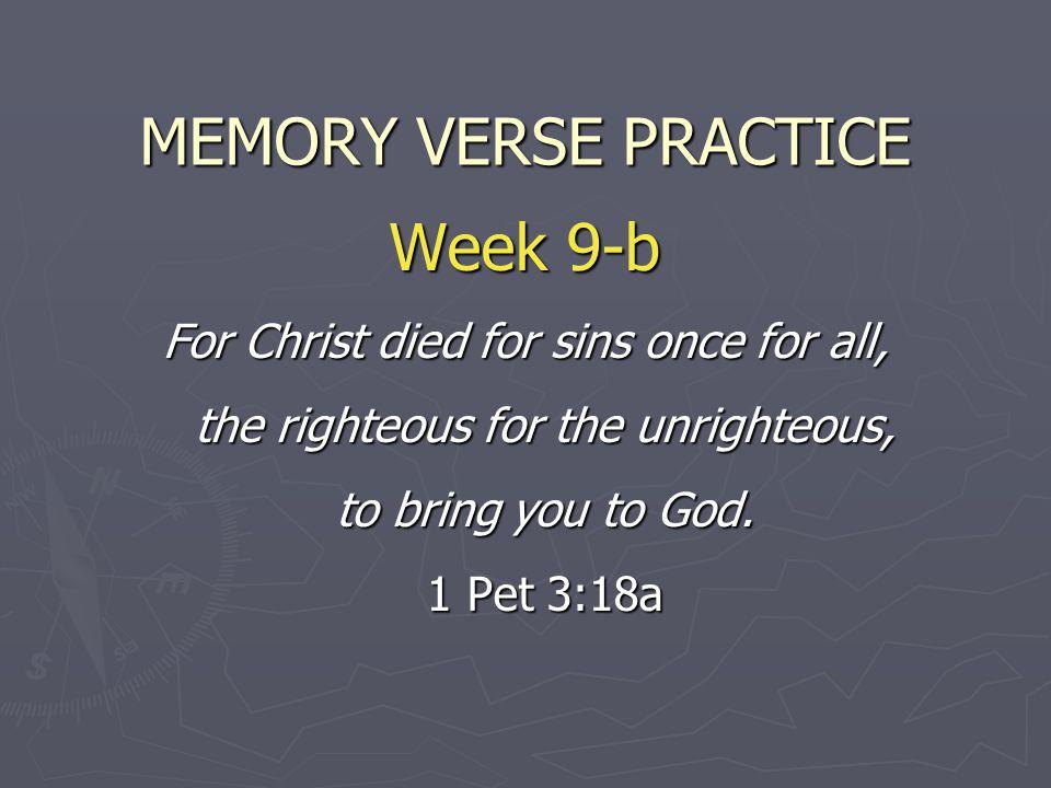 MEMORY VERSE PRACTICE Week 9-b