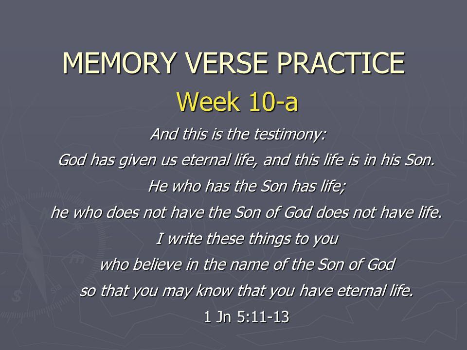 MEMORY VERSE PRACTICE Week 10-a