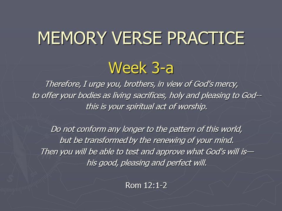 MEMORY VERSE PRACTICE Week 3-a