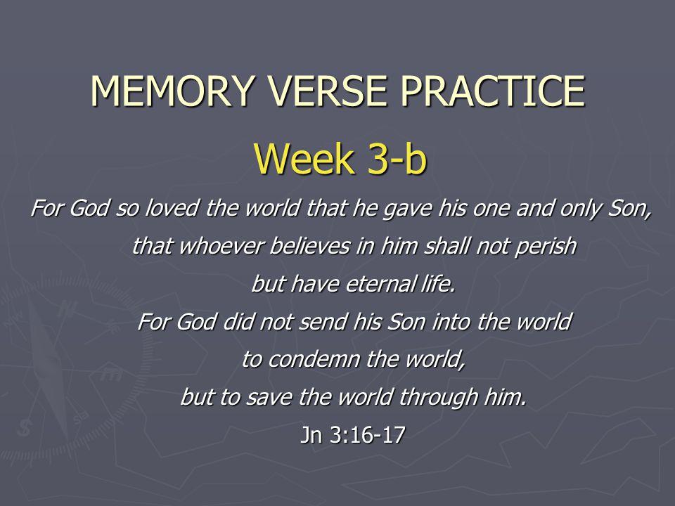 MEMORY VERSE PRACTICE Week 3-b