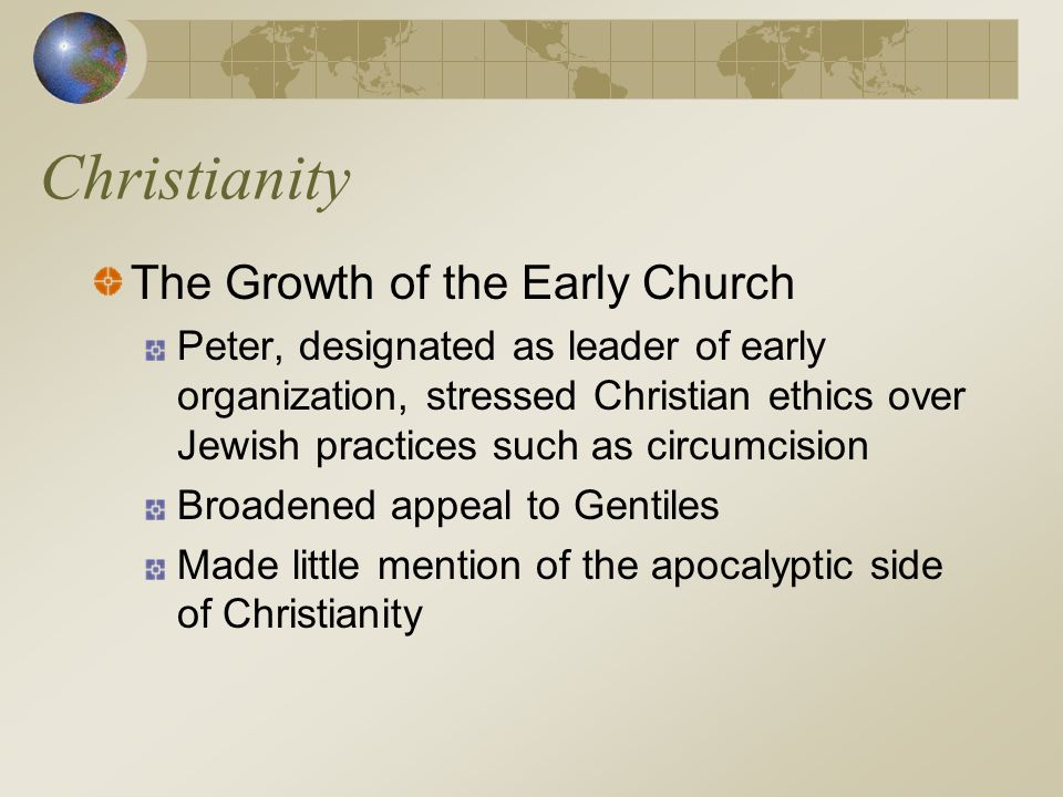 Christianity The Growth of the Early Church