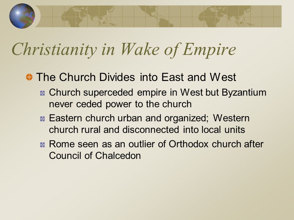 Christianity in Wake of Empire