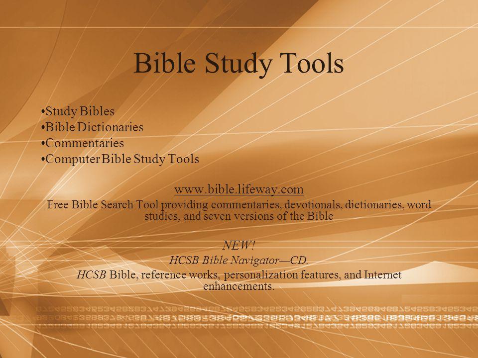 HCSB Bible Navigator—CD.