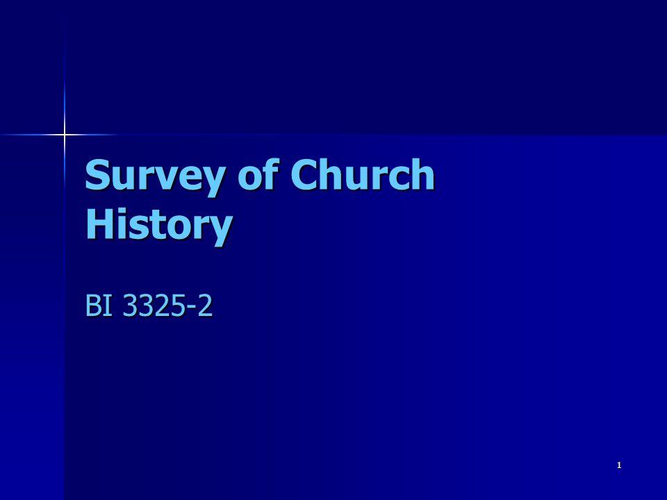 Survey of Church History