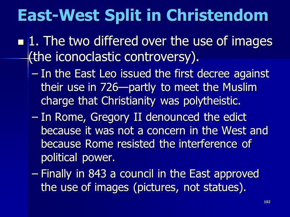 East-West Split in Christendom