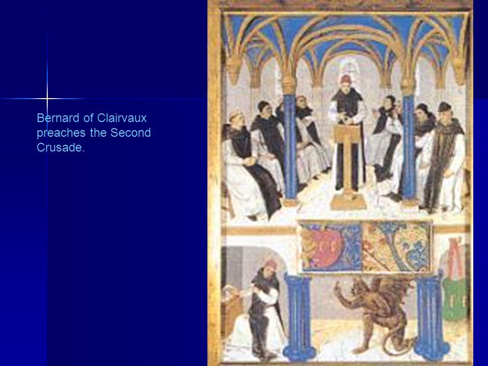 Bernard of Clairvaux preaches the Second Crusade. 38