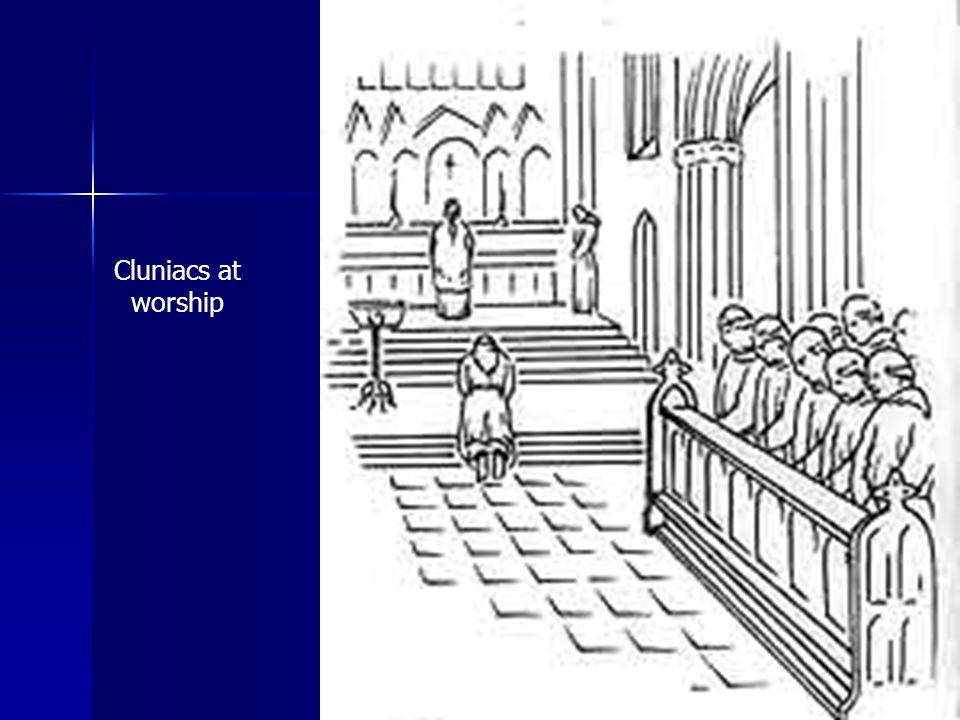 Cluniacs at worship