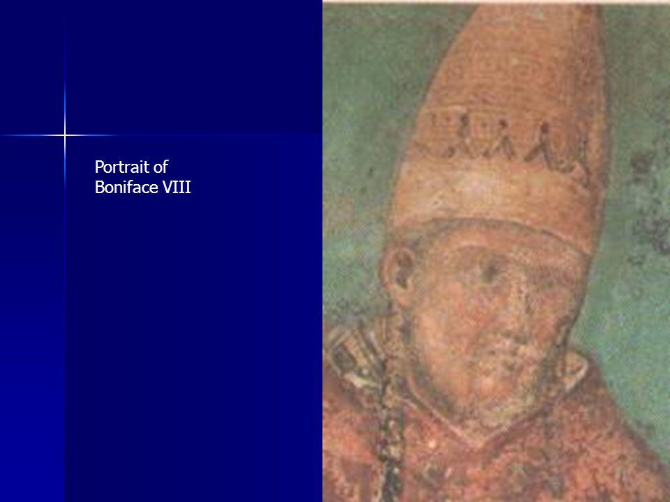 Portrait of Boniface VIII