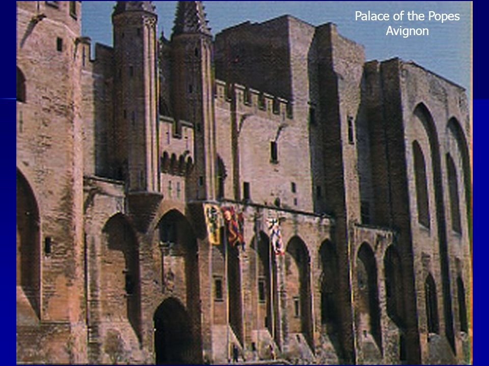 Palace of the Popes Avignon