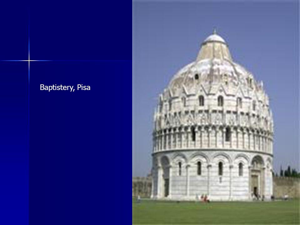 Baptistery, Pisa