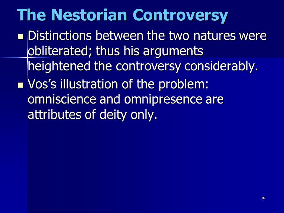 The Nestorian Controversy