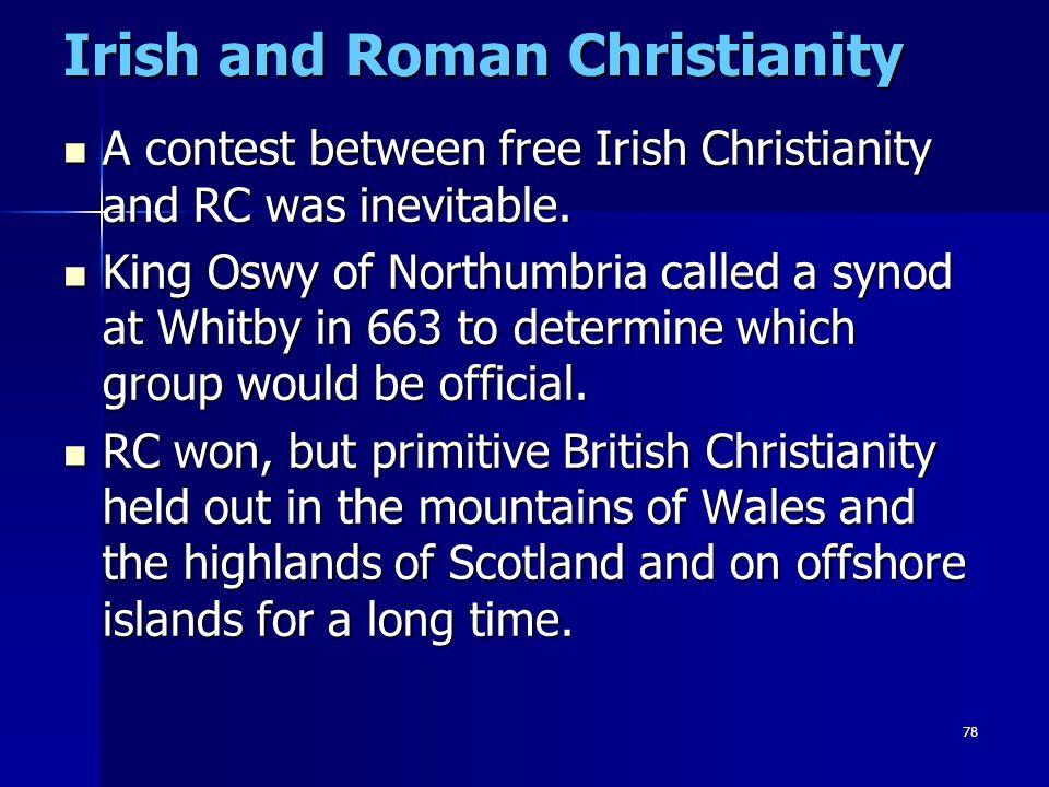 Irish and Roman Christianity