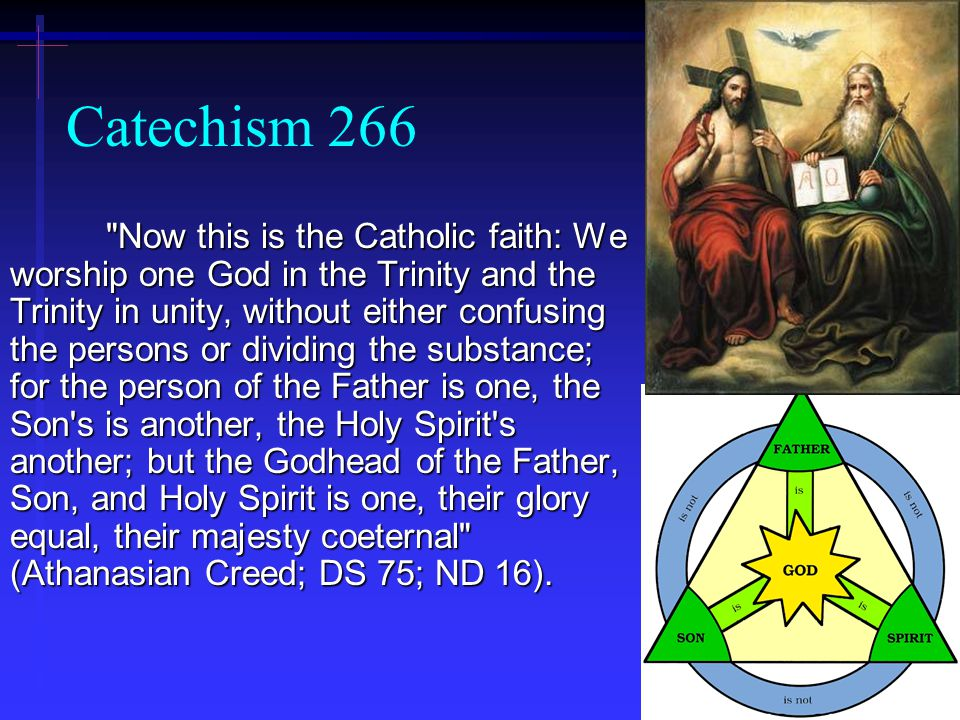 Catechism 266