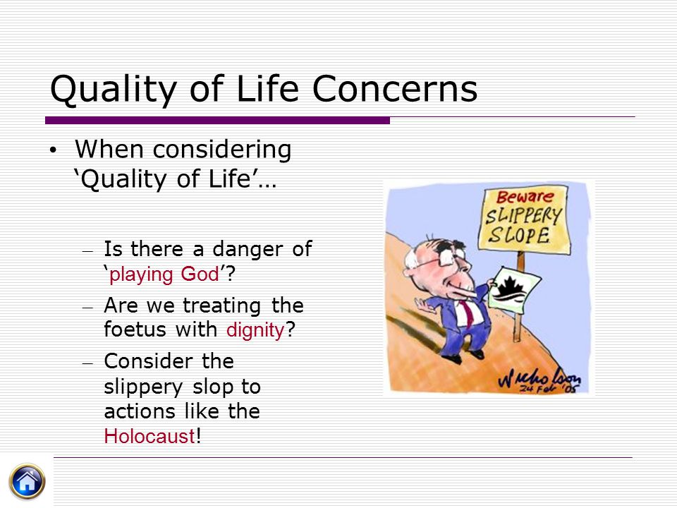 Quality of Life Concerns