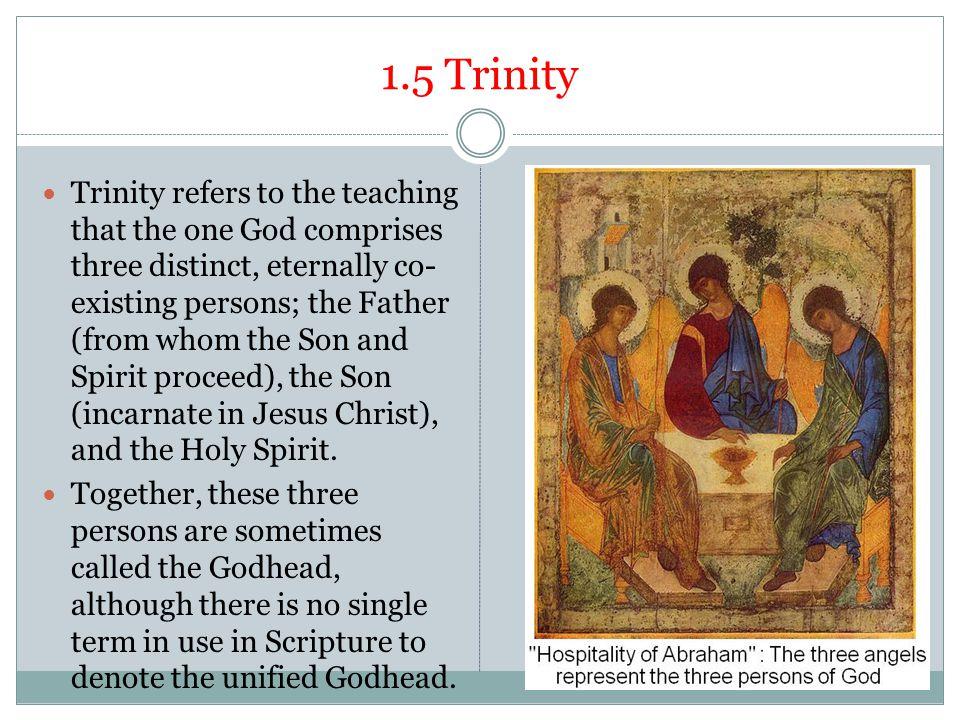 1.5 Trinity