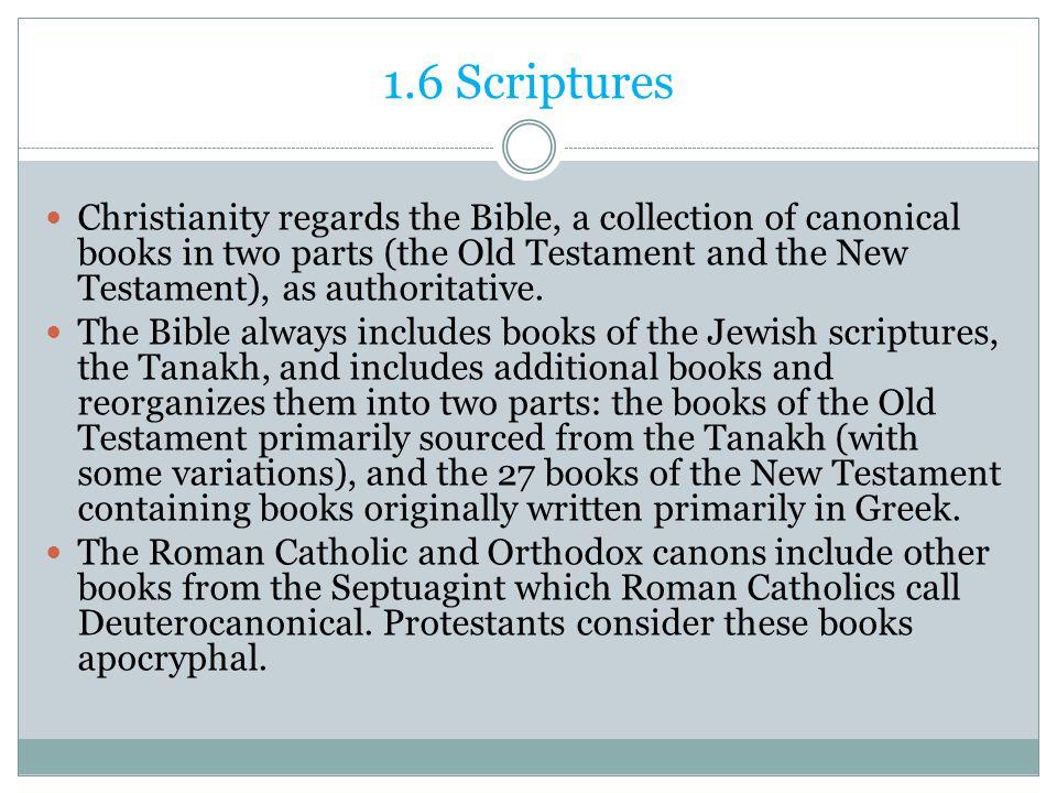 1.6 Scriptures