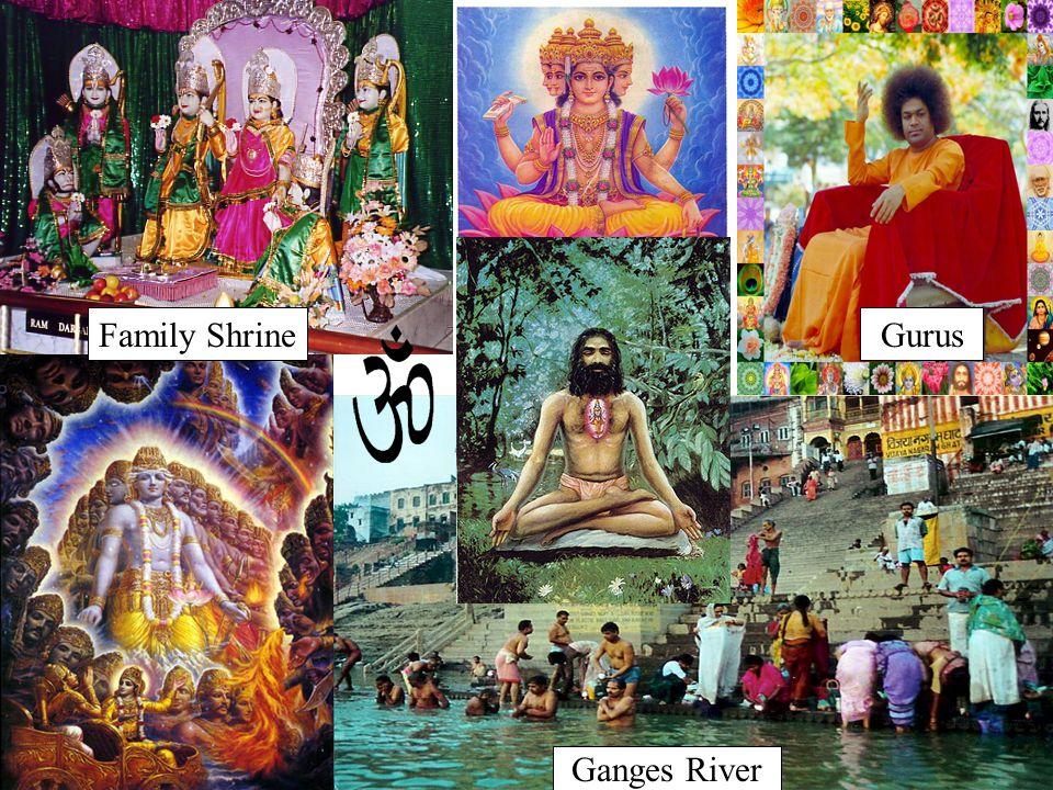 Family Shrine Gurus Ganges River