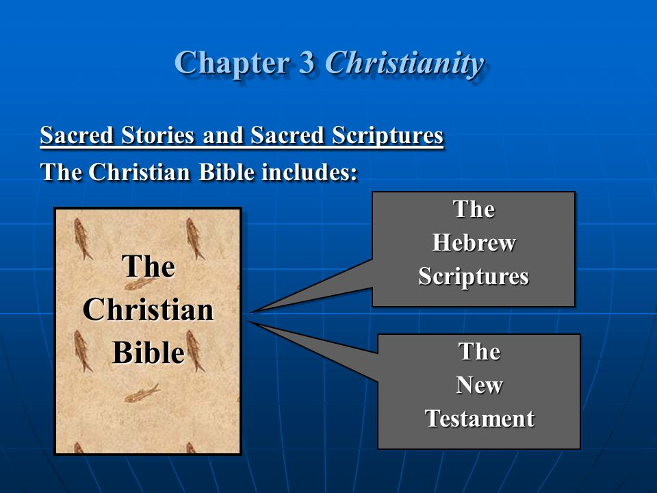 Chapter 3 Christianity The Christian Bible