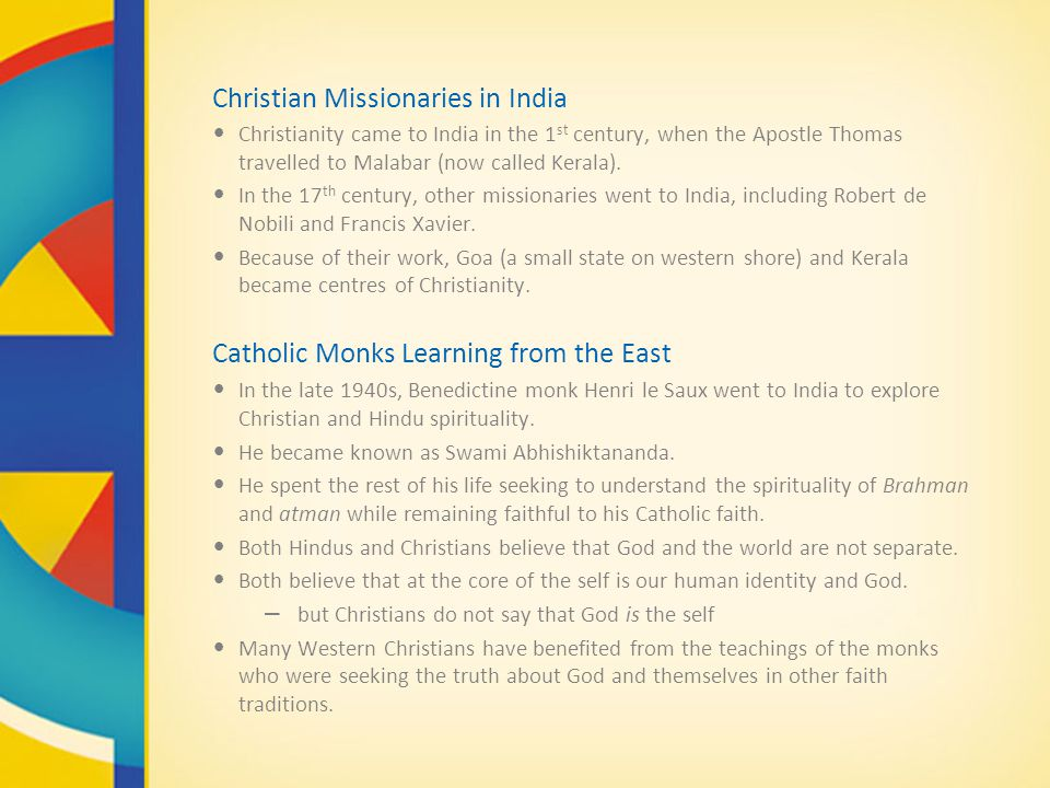 Christian Missionaries in India