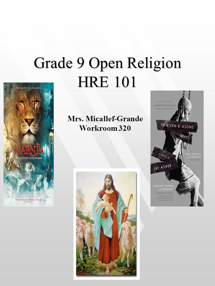 Grade 9 Open Religion HRE 101