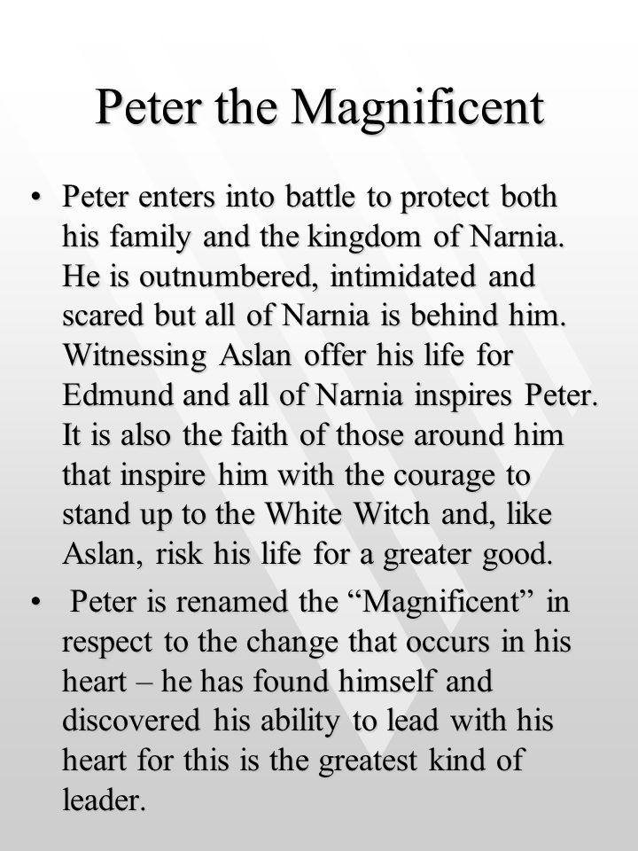 Peter the Magnificent