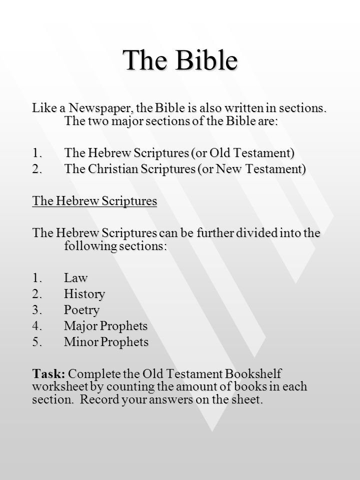 Fascinating Facts About the Old Testament