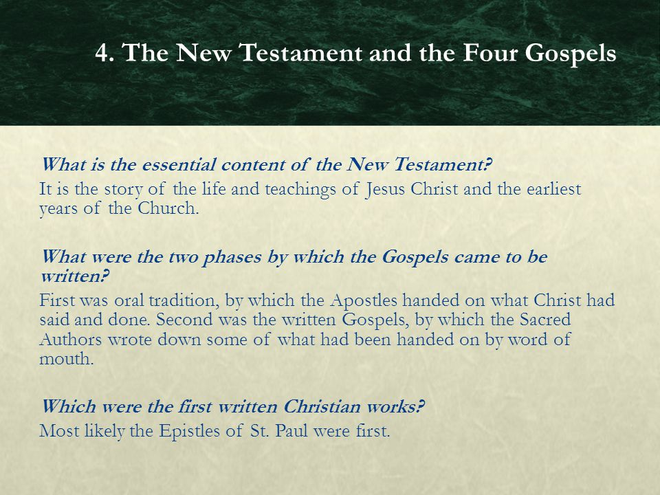 StPaul Wrote Most Of The New Testament