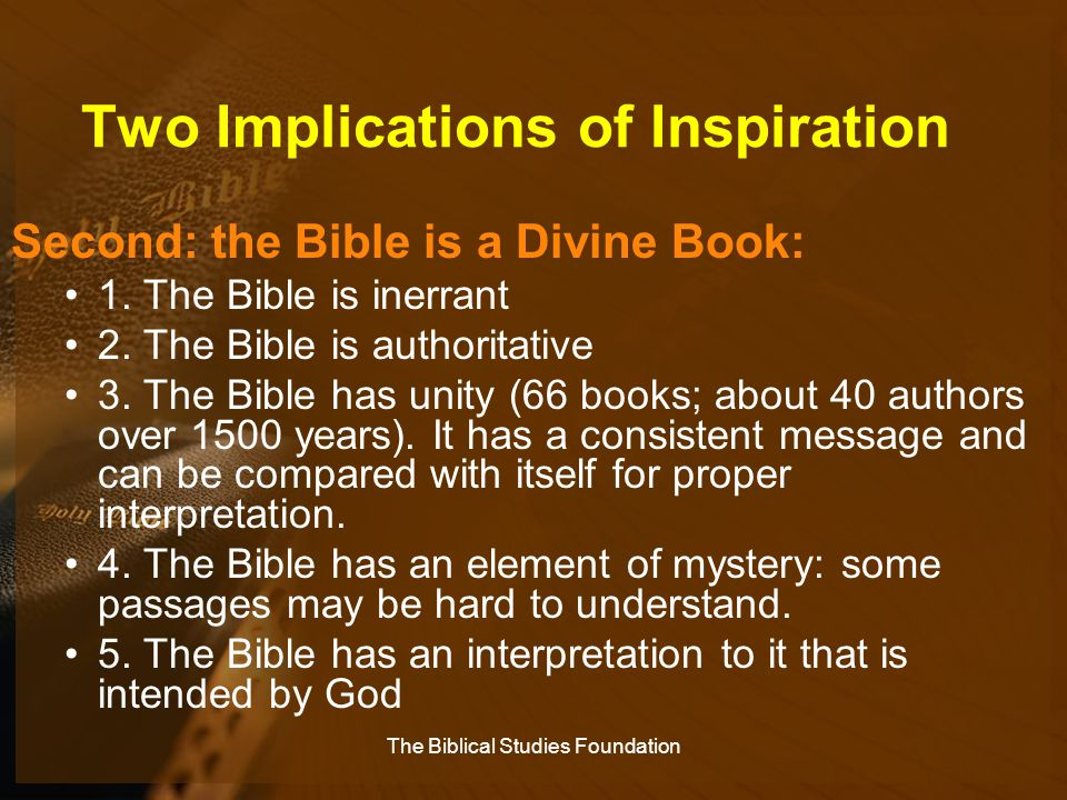 Two Implications of Inspiration